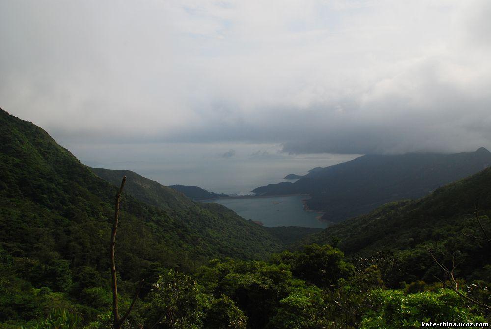 Вид с горы (Остров Лантау)